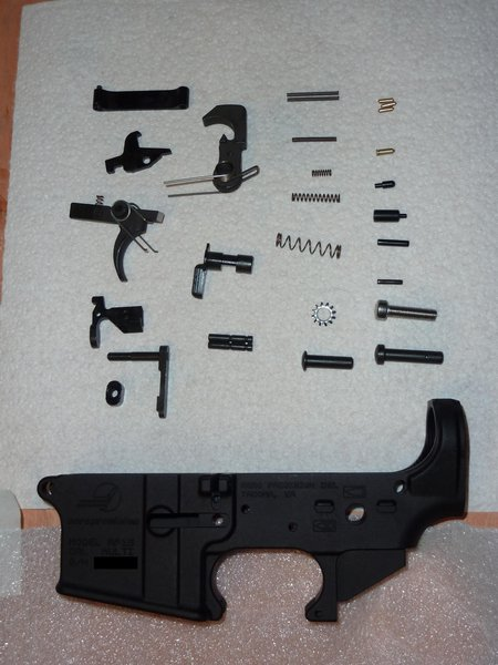 AR-15 lower receiver parts || DMC-ZS3@6.5 | 1/30s | f3.6 | ISO100 || 2010-03-20 23:04:01